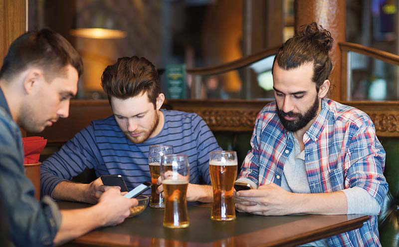 shutterstock_group with phones