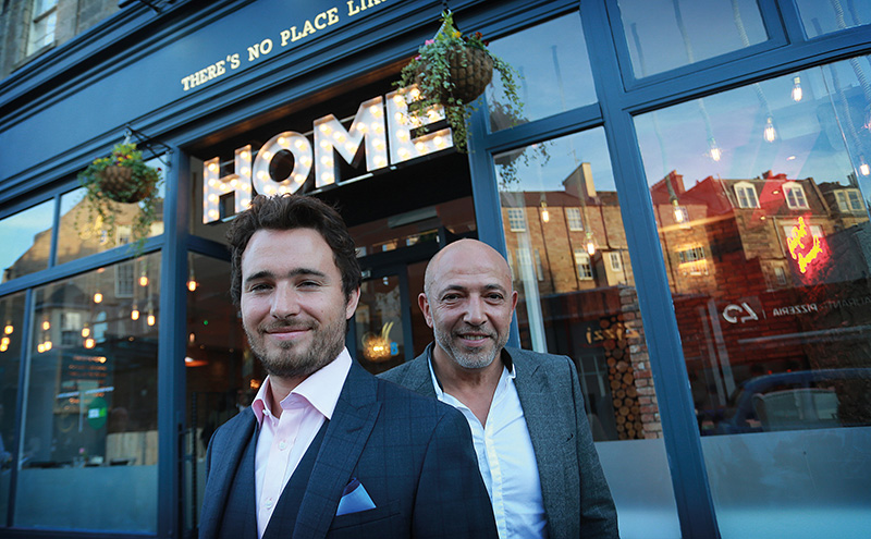 • Josh Littlejohn (left) and Dean Gassabi are the founders of Home.