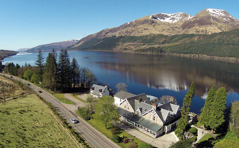 Lodge a bid for Highland hotel