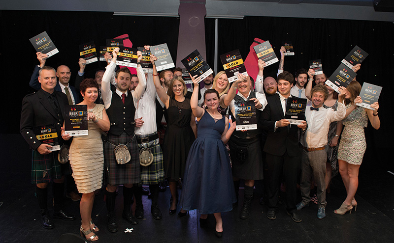 • Brewers picked up prizes at the Scottish Beer Awards.