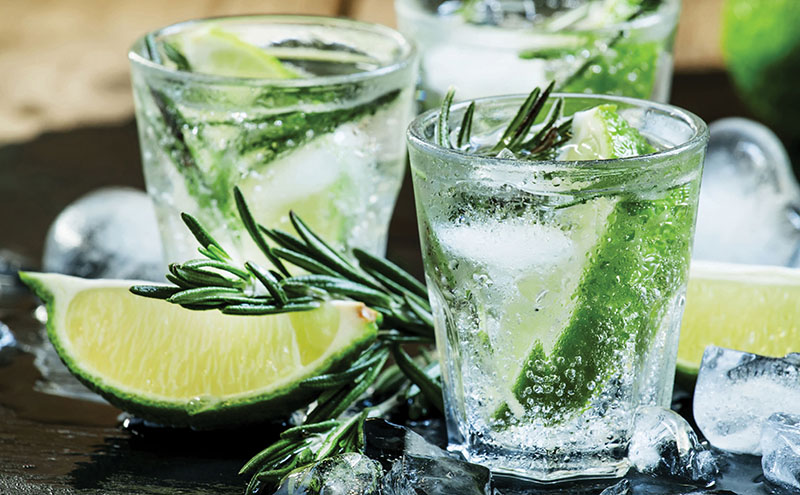 • A creative G&T menu can drive sales.