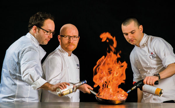 Chefs ready to turn up the heat