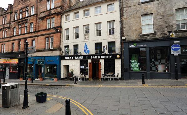 Historic pub on the market