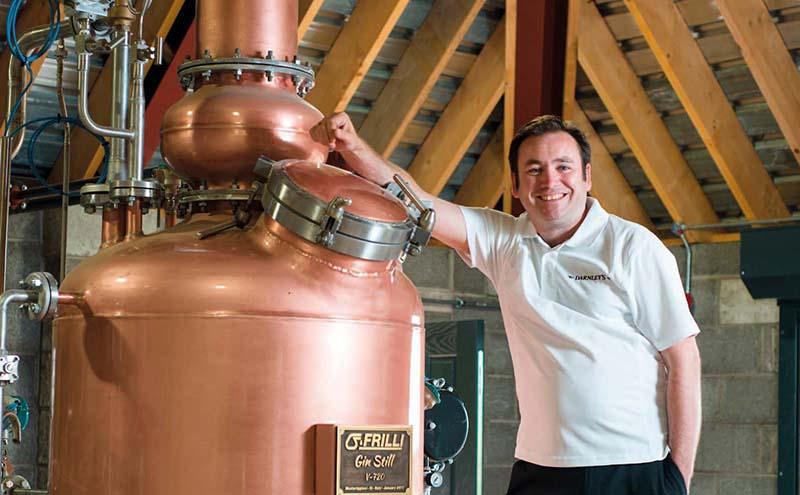Distiller Scott Gowans