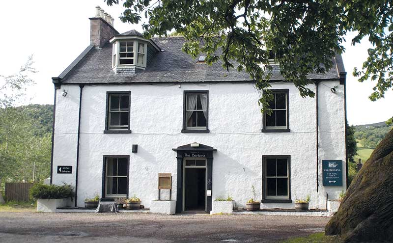 Viva Benleva: Neil Morrison has revamped the hotel in Drumnadrochit, Loch Ness.