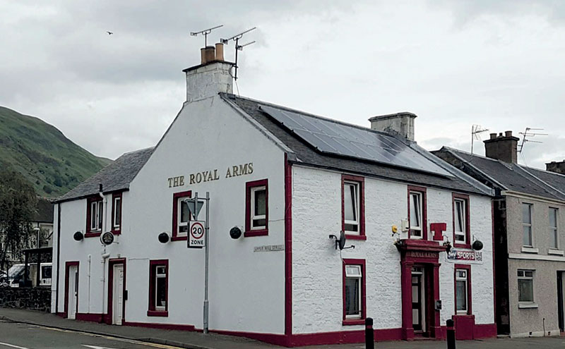 Royal Arms, Tillicoultry