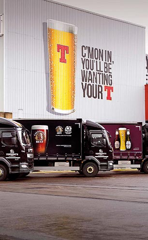 Tennent's Brewery Trucks