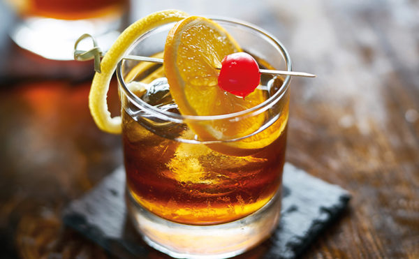 A drink that is far from old fashioned