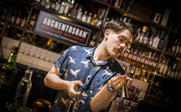 Everything's in order for capital bartender