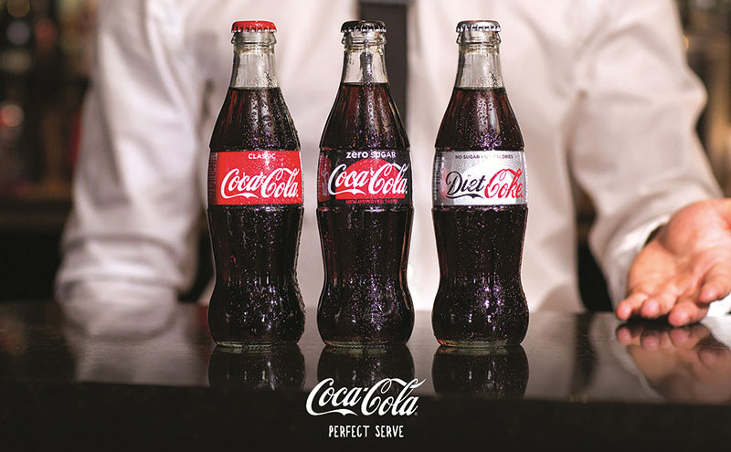 The 'Perfect Serve' training from Coca-Cola European Partners follows three simple steps.