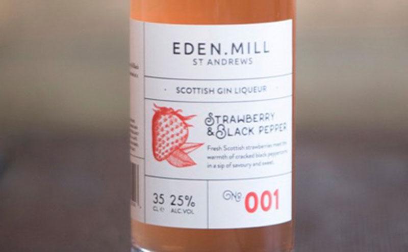 Eden Mill Strawberry & Black Pepper liqueur