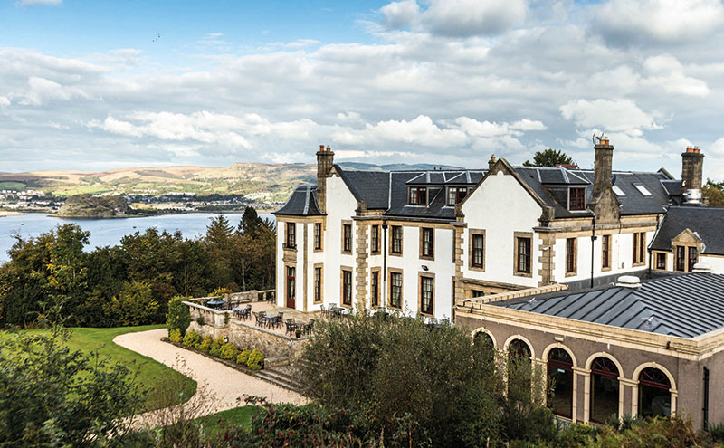 The revamped Gleddoch hotel and spa