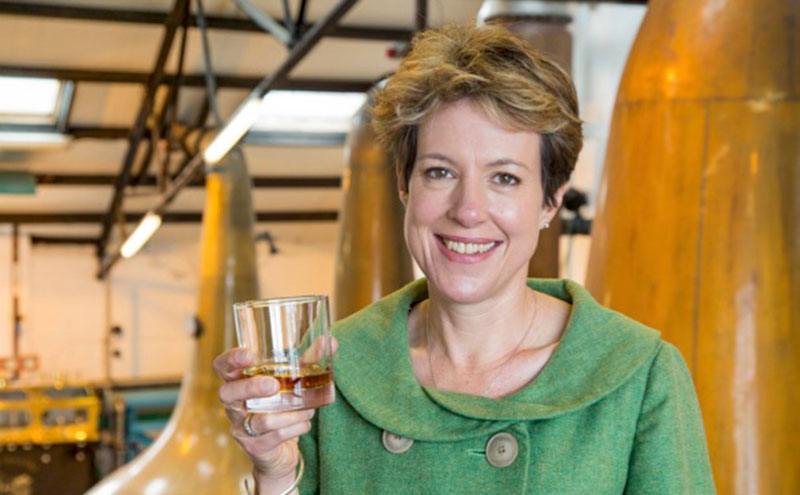 Scotch Whisky Association's Karen Betts raises a glass to tourism boost.