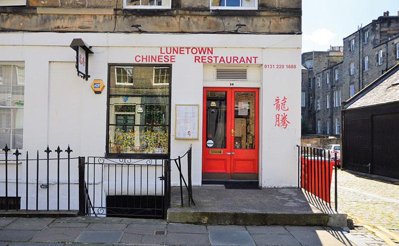 Lunetown in Edinburgh