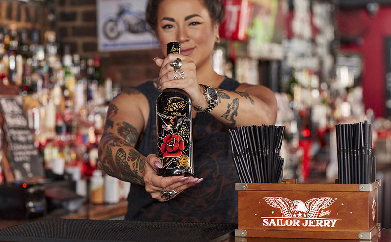 Sailor Jerry Ltd edition bottle-facebook