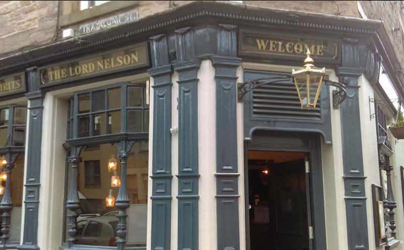 The Lord Nelson has benefitted from a comprehensive refurbishment.