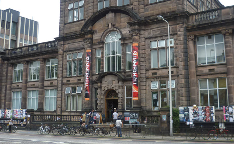 The event will be held at Summerhall.