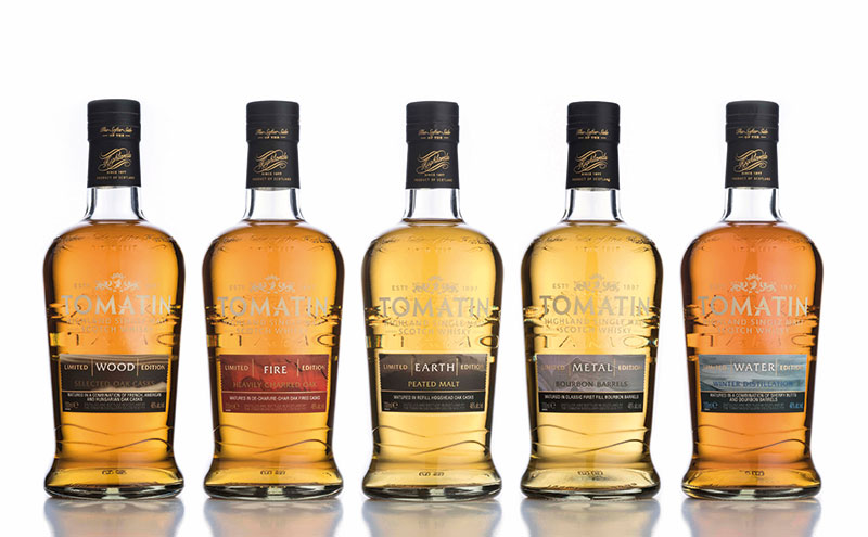 The Earth expression, the third release in the five-part series, has a peaty profile.