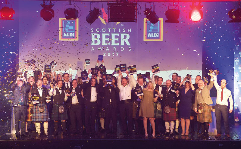 The Scottish Beer Awards recognised the best beers in the country.