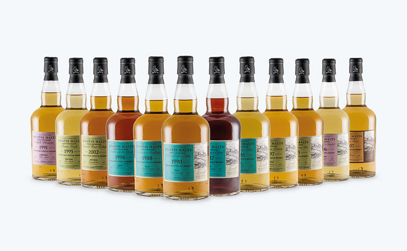 Wemyss Malts new range of single cask whiskies