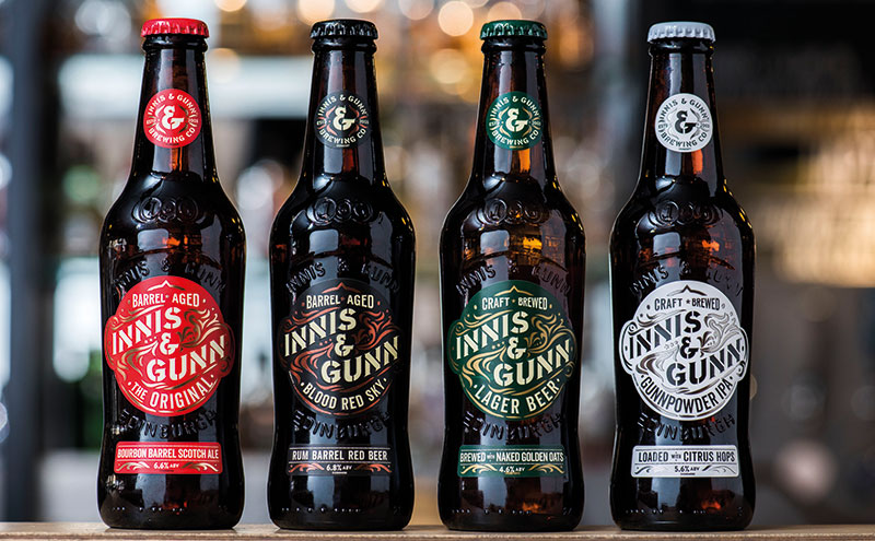 The new look for the Innis & Gunn range
