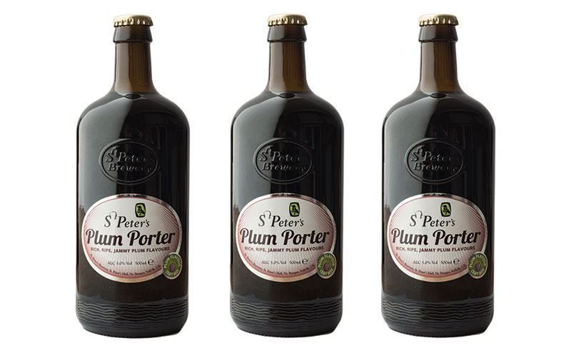 • St. Peter's Brewery's Plum Porter.