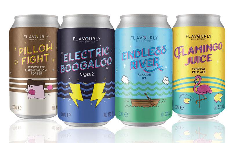 The Flavourly range