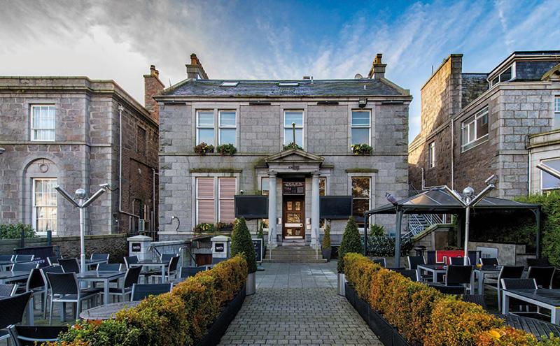 The Albyn in Aberdeen