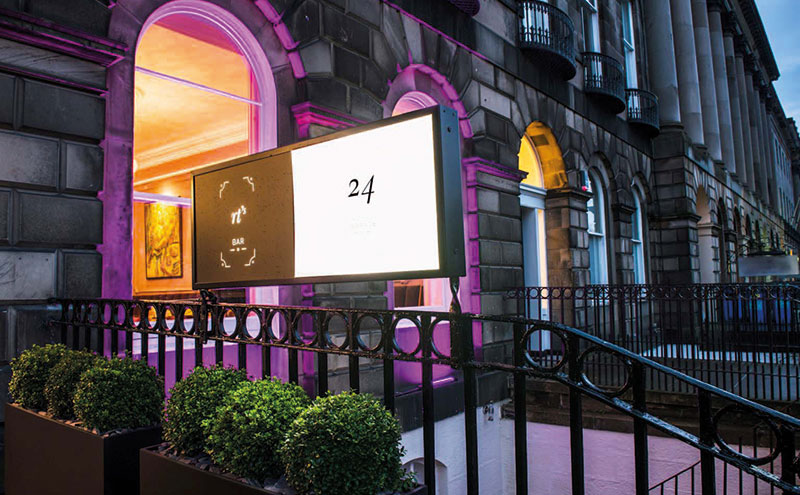 The business was previously sold by property firm Christie & Co in 2014 and, after a 'substantial' refit, reopened as 24 Royal Terrace in 2015.