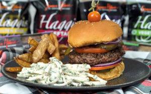 Recipe: Haggis burger by Gary Maclean, National Chef of ...