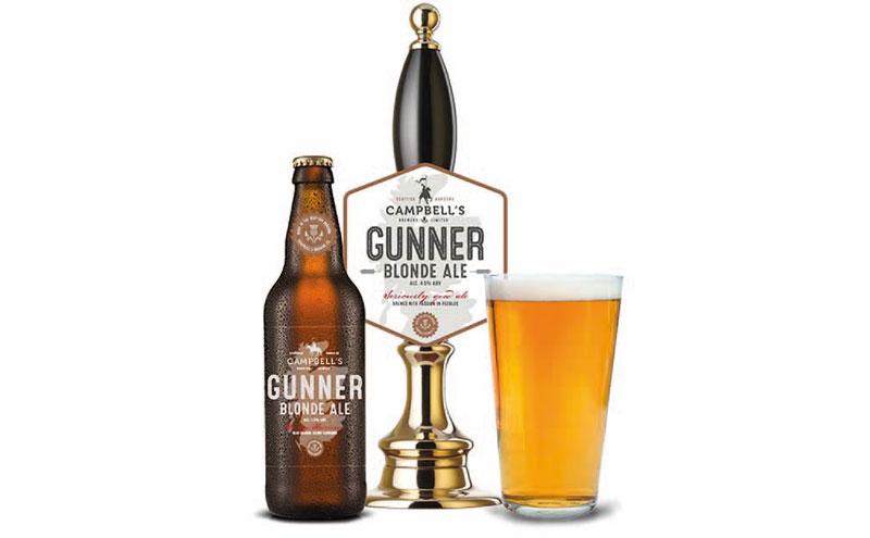 Gunner blonde ale
