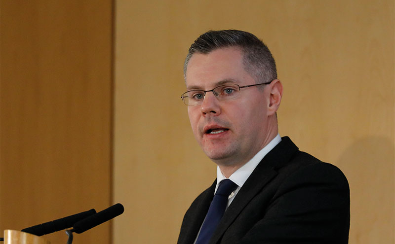 Finance secretary Mackay.