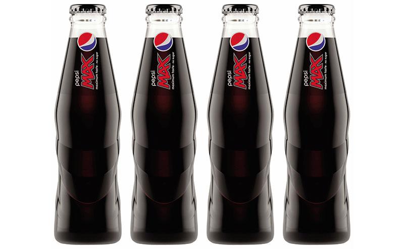 Pepsi MAX Glass Bottle