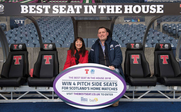 Brewer raffles off top rugby seats
