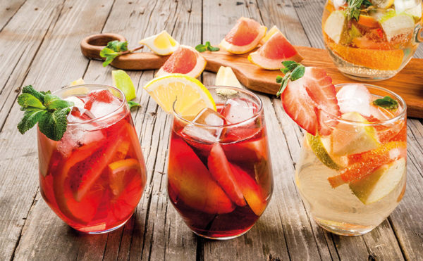 Warm flavours and cool drinks to shine