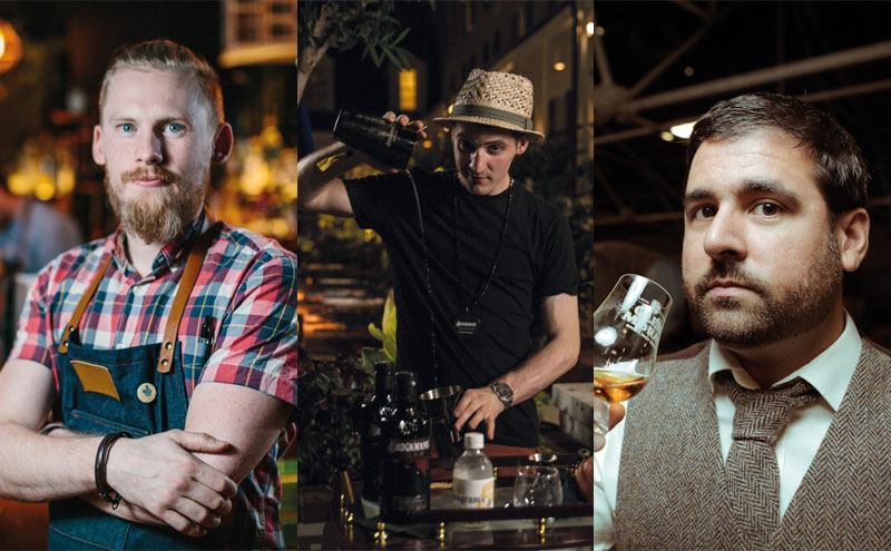 Dale Murray, Sebastian Stancyzk, Adrian Gomes
