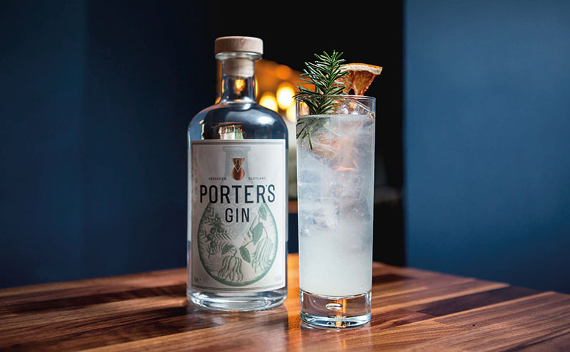 Porter's gin