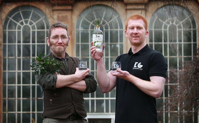 new edinburgh gin honours city 39 s garden scottish licensed trade news. Black Bedroom Furniture Sets. Home Design Ideas
