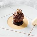 Ferrero Rocher-inspired dessert