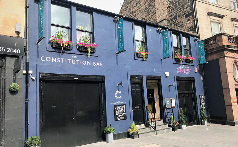 The Constitution Bar & Restaurant in Leith