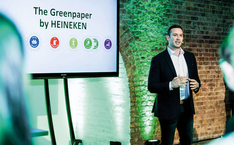Heineken's Jerry Shedden discussed the opportunities to boost sales.