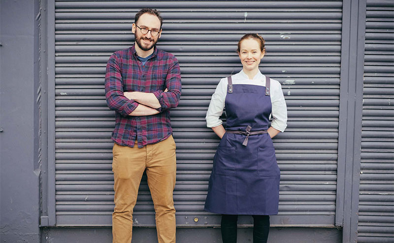 Shaun McCarron and Roberta Hall are due to open their own eatery.