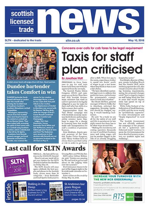 SLTN 26 April 2018 front cover