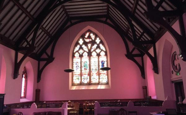 High praise for church refurb