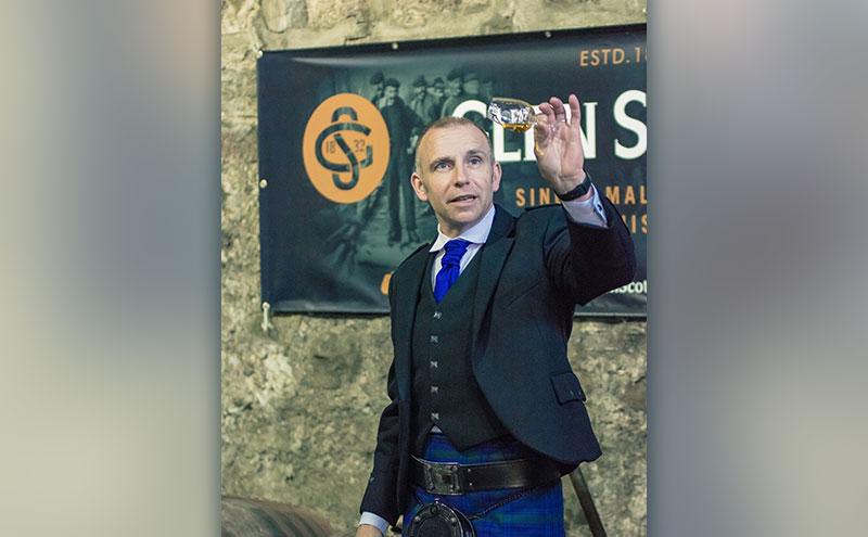 Distillery boss Iain McAlister.