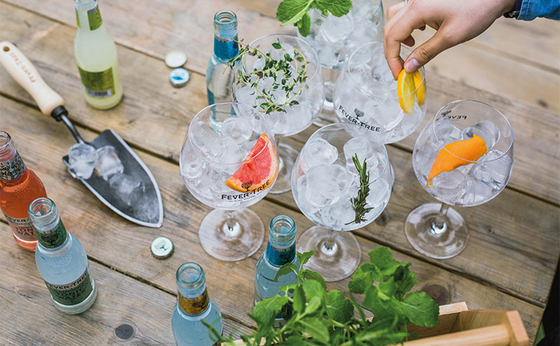 Fever-Tree is aiming to help licensees make the most of their outdoor spaces this summer.