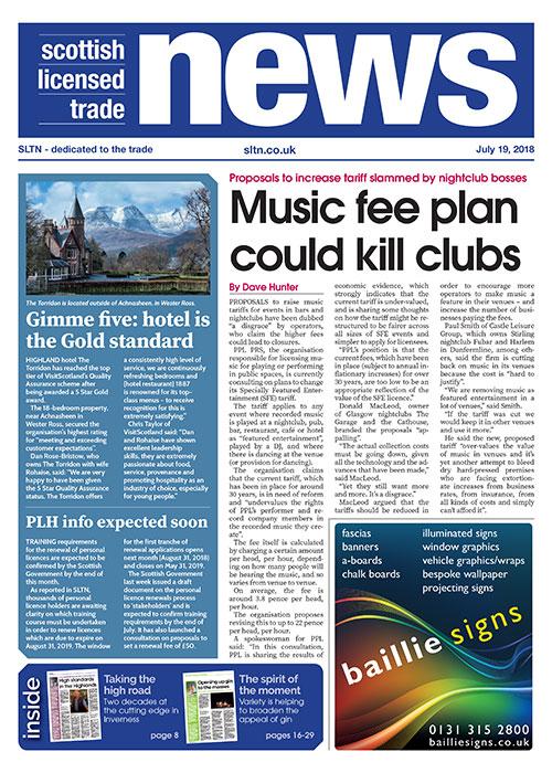 SLTN 19 July 2018 front cover