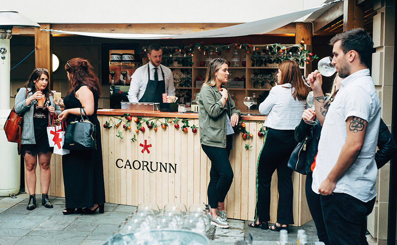 Caorunn gin garden