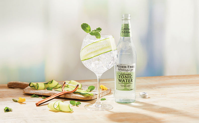 Cucumber tonic water