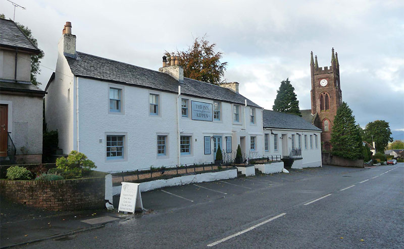 The Inn at Kippen in Stirlingshire
